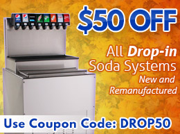 $50 off ALL Drop-in Systems - Use Coupon Code: DROP50