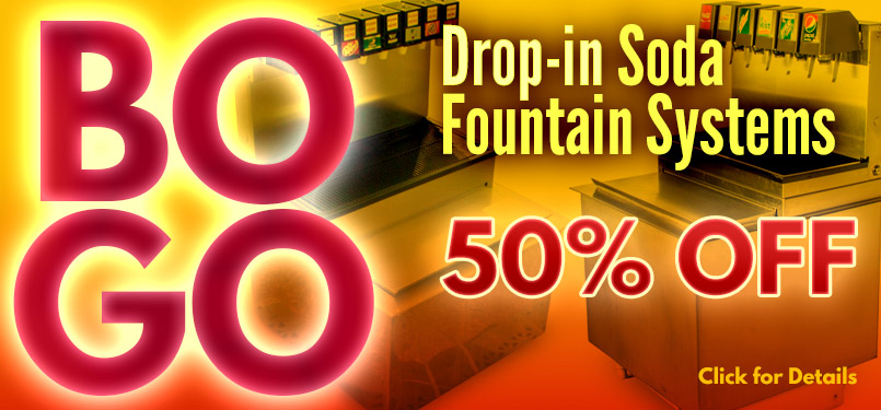 Buy 1 Drop-In System, Get 1 Drop-in System 50% OFF - Use Coupon Code: BOGO50DI