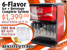 6-Flavor IBD - $1,399 with a FREE Brix Kit - Sale Ends October 31st