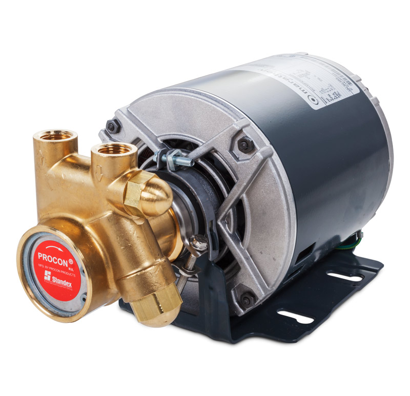 Carbonator Motor with Pump