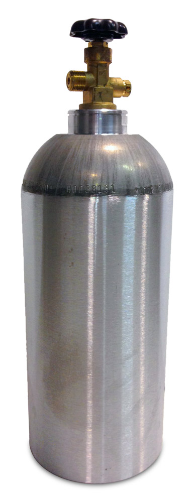 Aluminum CO2 Cylinder (10 lbs)