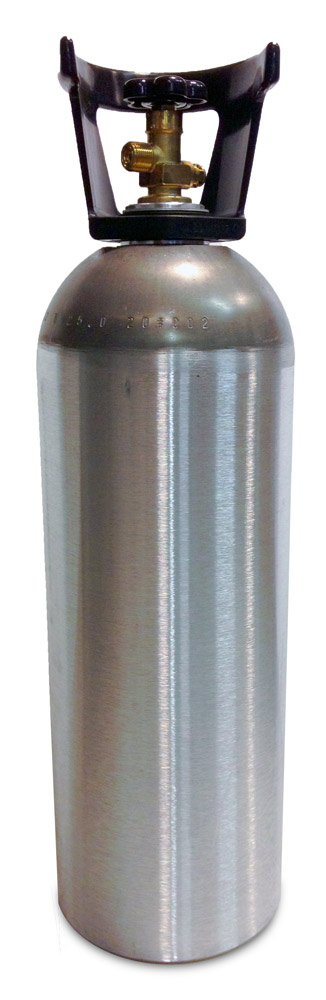 Aluminum CO2 Cylinder (20 lbs)