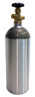 Aluminum CO2 Cylinder (5 lbs)