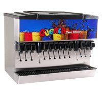 12-Flavor Ice and Beverage Soda Fountain System (NEW)