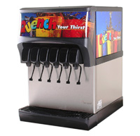 6-Flavor Counter Electric Soda Fountain System (NEW)