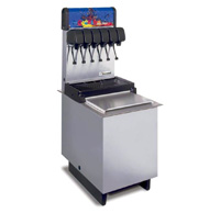 6-Flavor Drop-in Soda Fountain System (NEW)