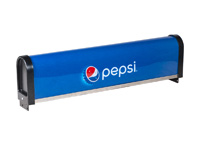 Large Pepsi Marquee (for Servend or Lancer 23x23 drop-in)