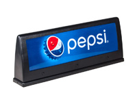 Large Pepsi Marquee (for Cornelius 23x23 drop-in)