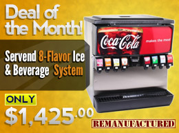 Deal of the Month: $173 OFF 8-Flavor Ice & Beverage System