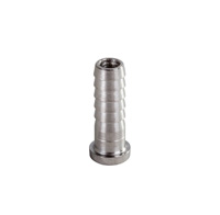 "1/4"" Barbed Hose Stem for 1/4"" Swivel Nut"