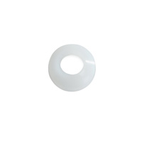 "1/4"" Nylon Flare Washer (white)"