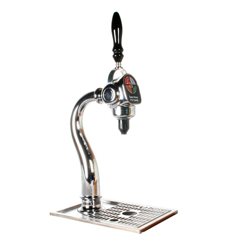 4-Flavor Draft Arm Soda Fountain System with Remote Cooler (NEW)