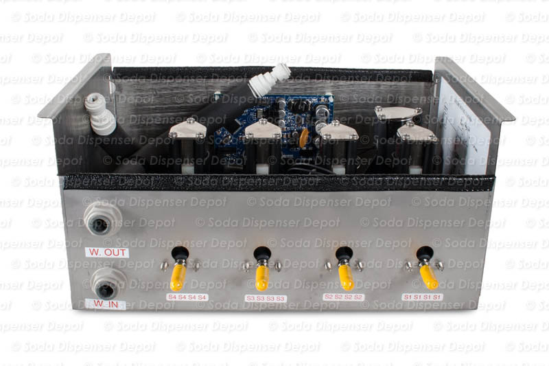 4-Flavor Draft Arm Junction Box (front)