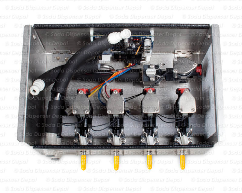 4-Flavor Draft Arm Junction Box (inside)