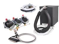 3-Flavor Soda Gun Fountain System w/ NEW Compact Remote Chiller