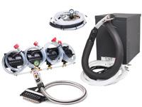 4-Flavor Soda Gun Fountain System w/ NEW Compact Remote Chiller