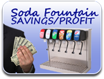 Soda Fountain Savings/Profit