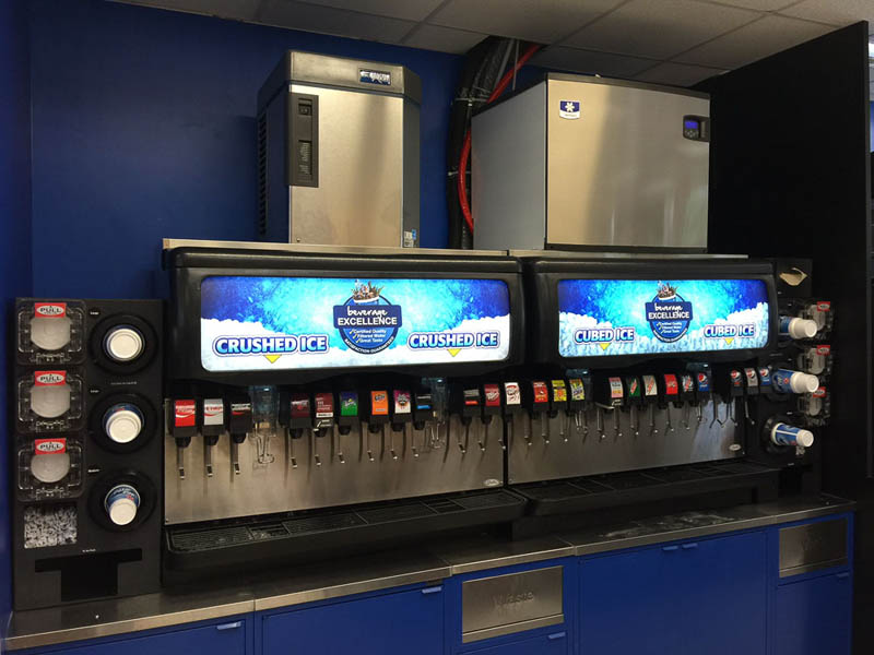 soda machine maintenance