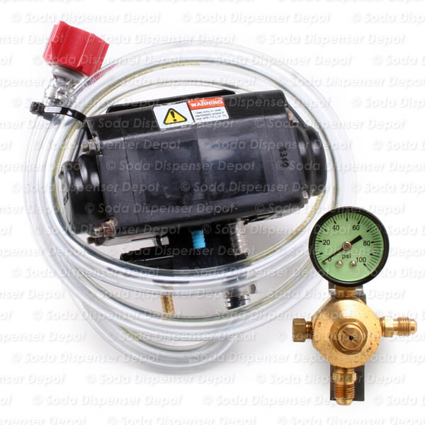 One (1) Flojet Pump w/ Secondary Regulator