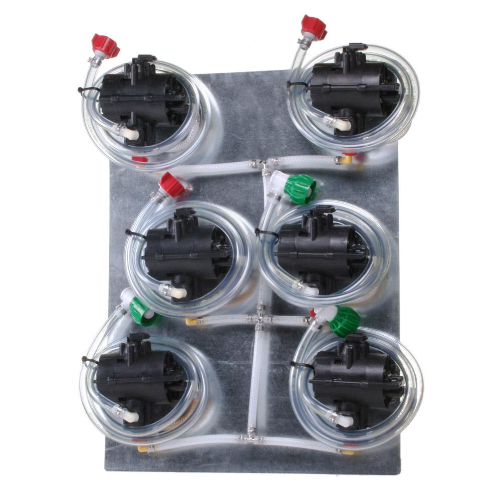 Six (6) Syrup Pumps