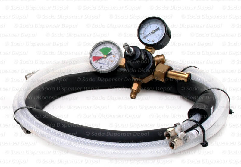 Tubing and Primary Regulator