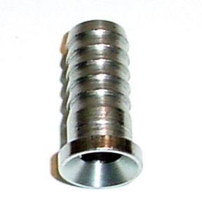 "3/8"" Barbed Hose Stem for 3/8"" Swivel Nut"