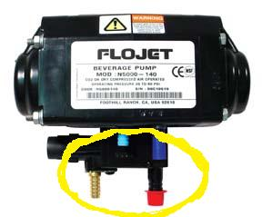 Flojet Auto Shut-off Module (demo - syrup pump not included)