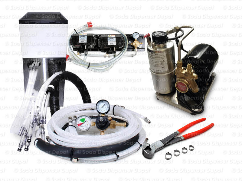2-Flavor Support Equipment Package w/ Remote Chiller