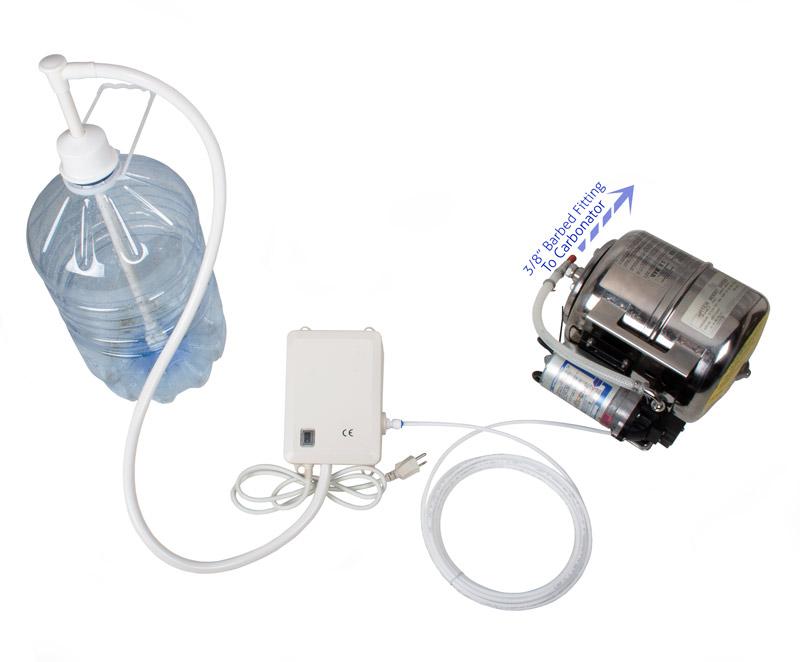Bottled Water Dispenser Pump Setup