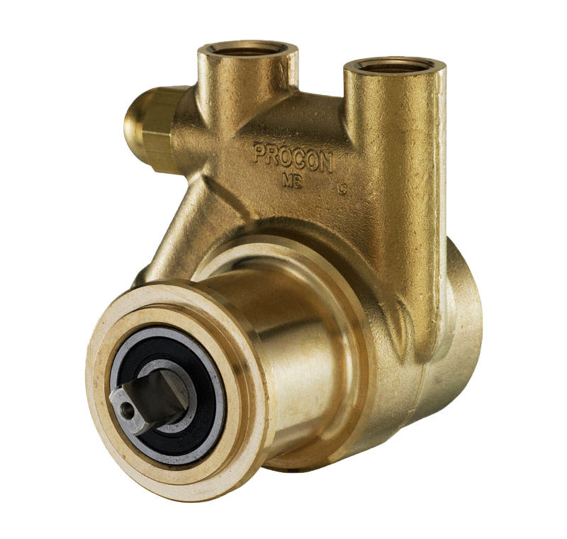 PROCON Series 1 Brass Pump (rear angle)