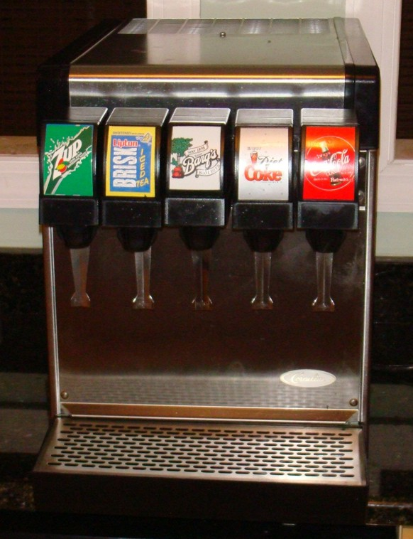 5-Flavor Counter Electric Soda Fountain System