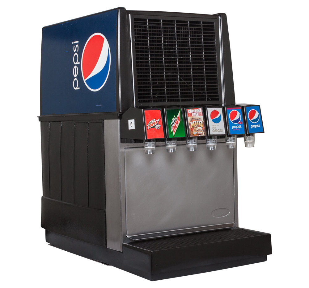 100 soda machine