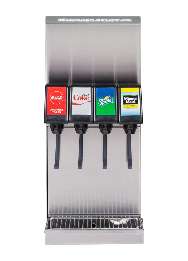 4-Flavor Counter Electric Soda Fountain System (front)