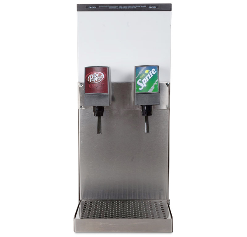 2-Flavor Counter Electric Soda Fountain System (front)