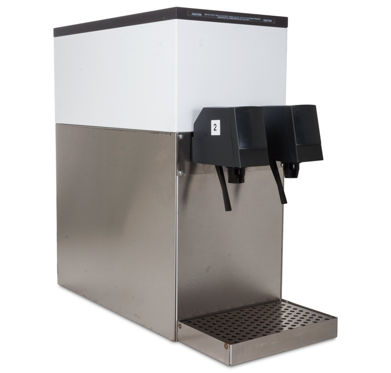 2-Flavor Counter Electric Soda Fountain System (angle)