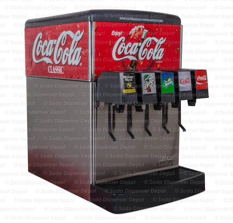 5-Flavor Counter Electric Soda Fountain System