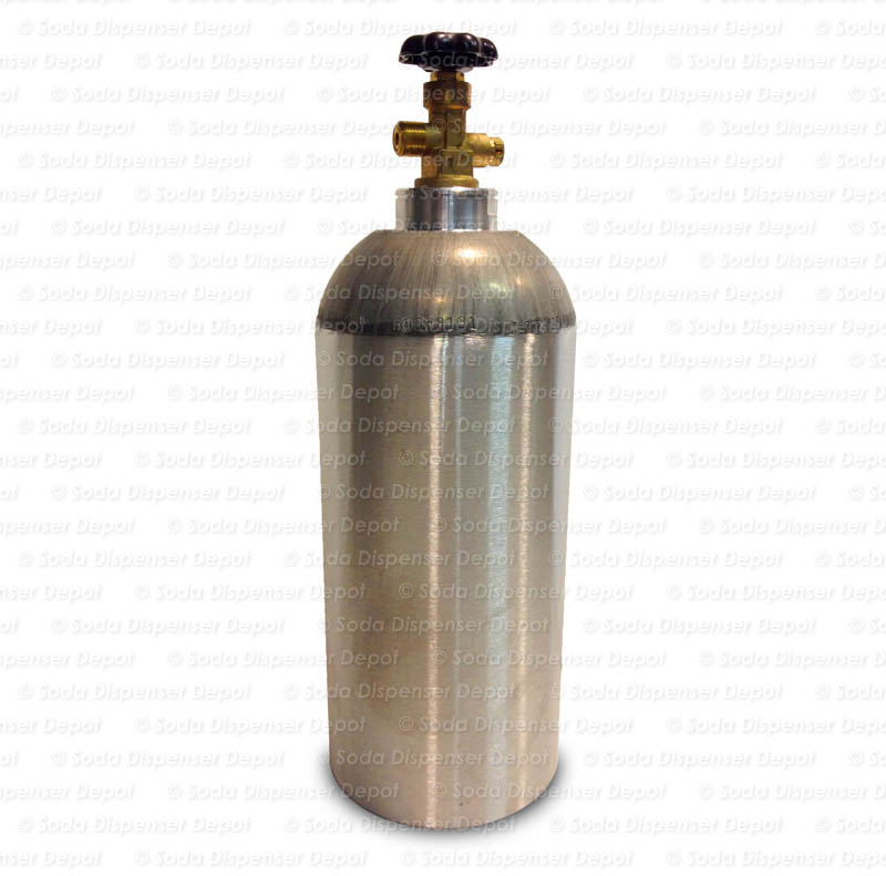 Aluminum CO2 Cylinder (10 lbs.)