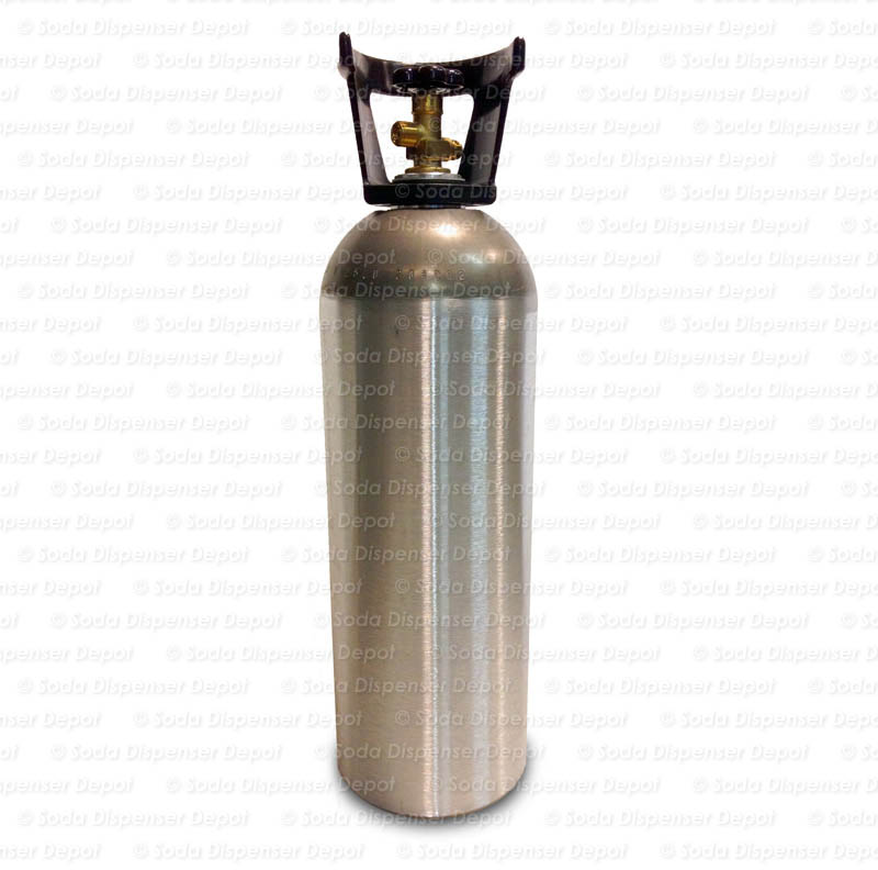 Aluminum CO2 Cylinder (20 lbs.)
