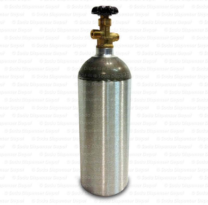 Aluminum CO2 Cylinder (5 lbs.)
