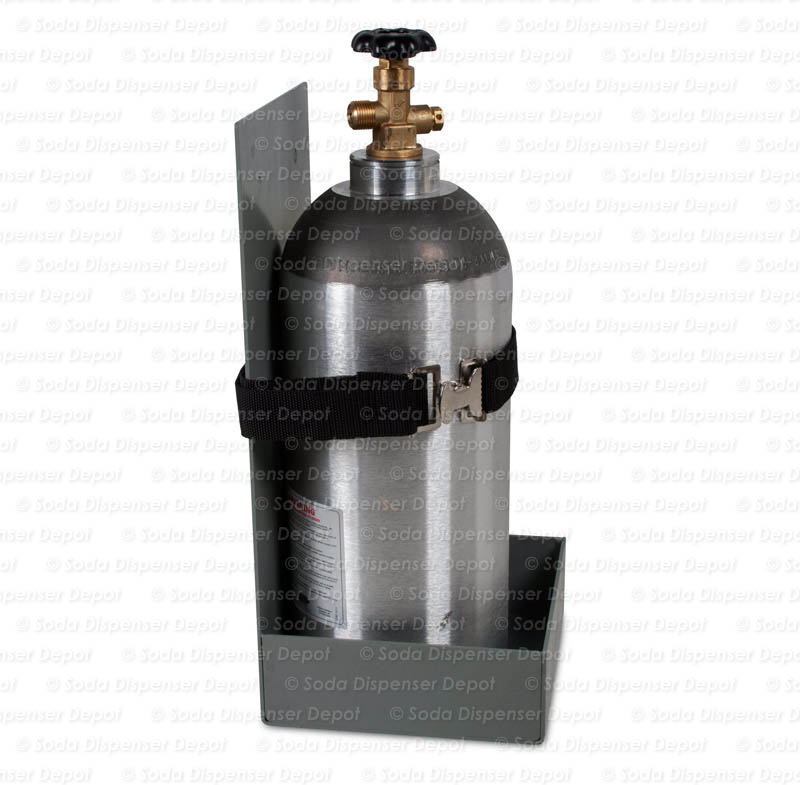 CO2 Tank Holder (side demo - CO2 tank NOT included)