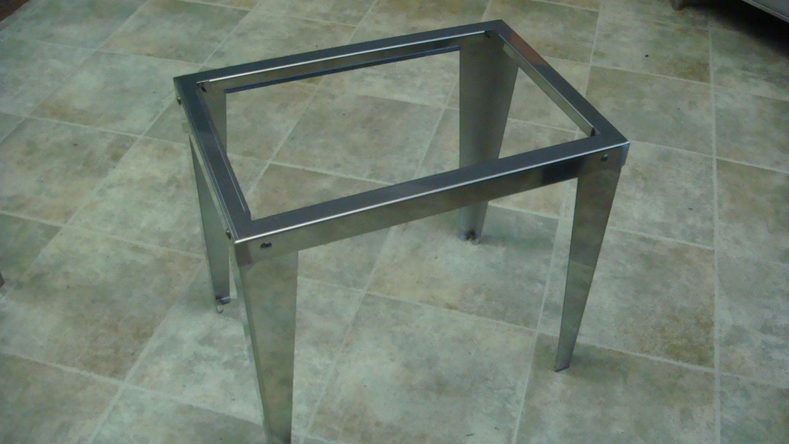 "Legs Stand for 15"" x 22"" Ice Bin"