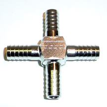 "1/4"" Barbed Cross"