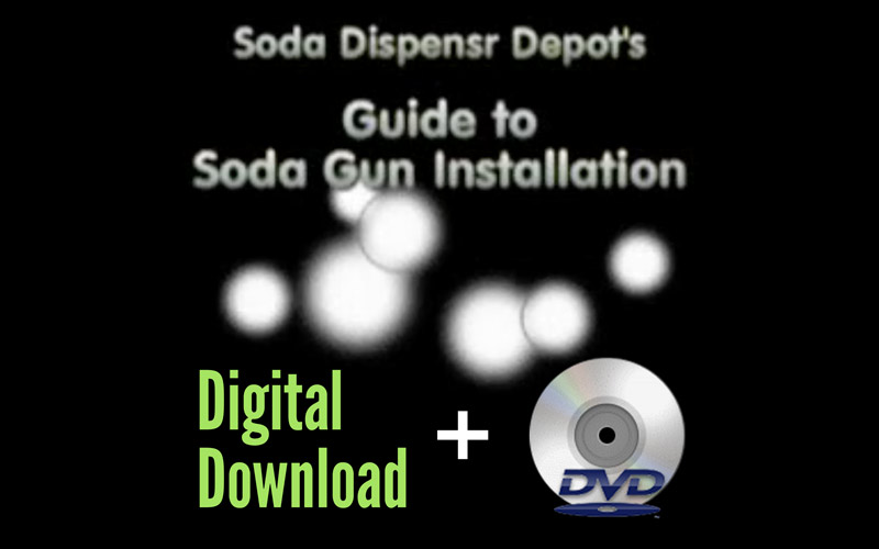 Soda Gun Installation Video (Download + DVD)