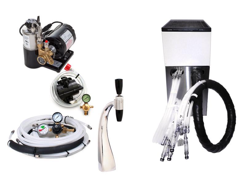 1-Flavor Draft Arm Soda Fountain System