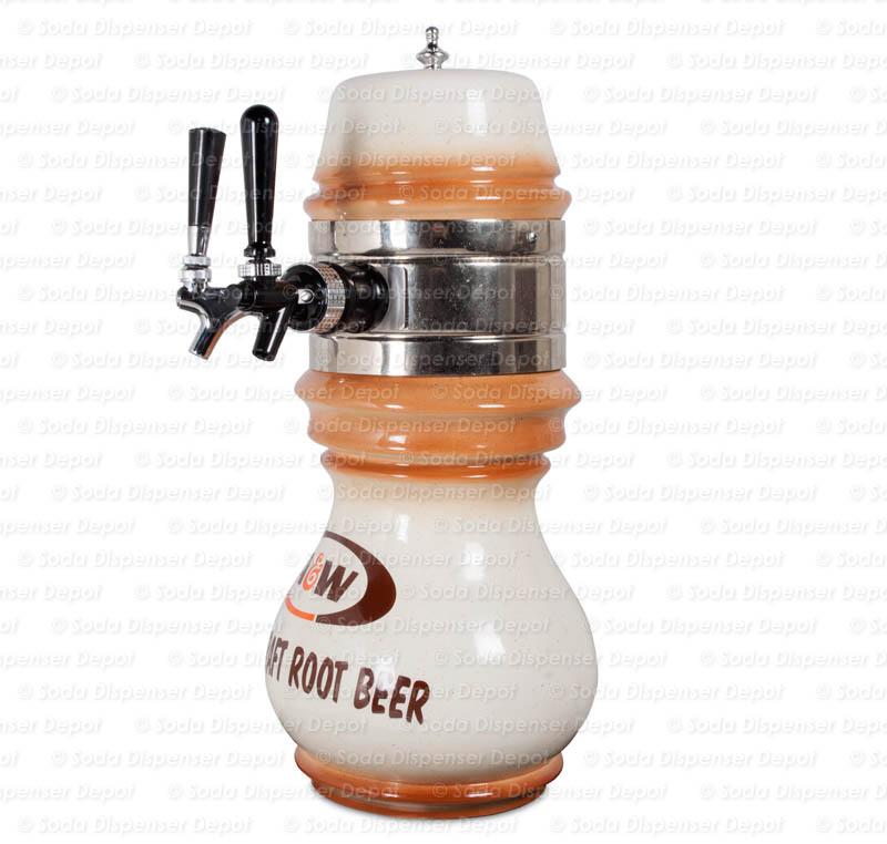 1-Flavor Wall-Mount Draft Arm Barrel (angle)