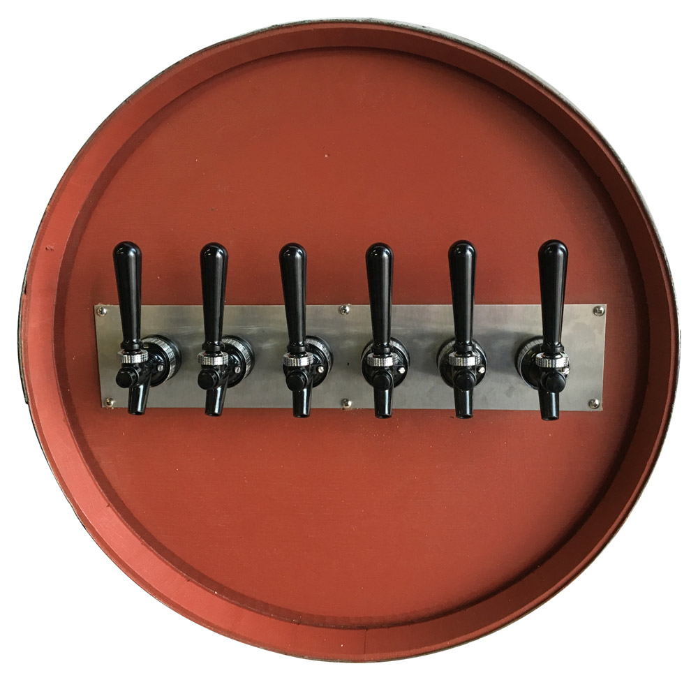 6-Flavor Unique Barrel Draft Arm (front)