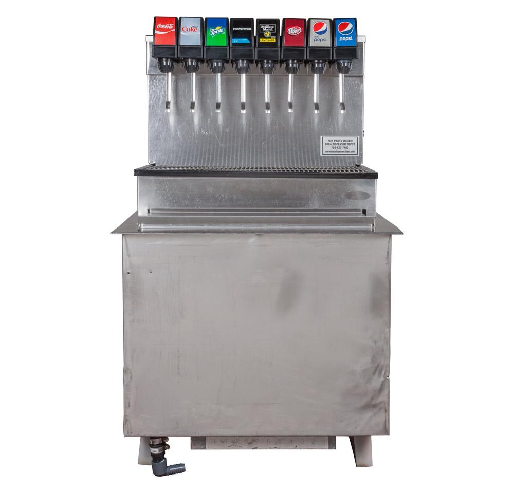 6-Flavor Drop-In Soda Fountain System