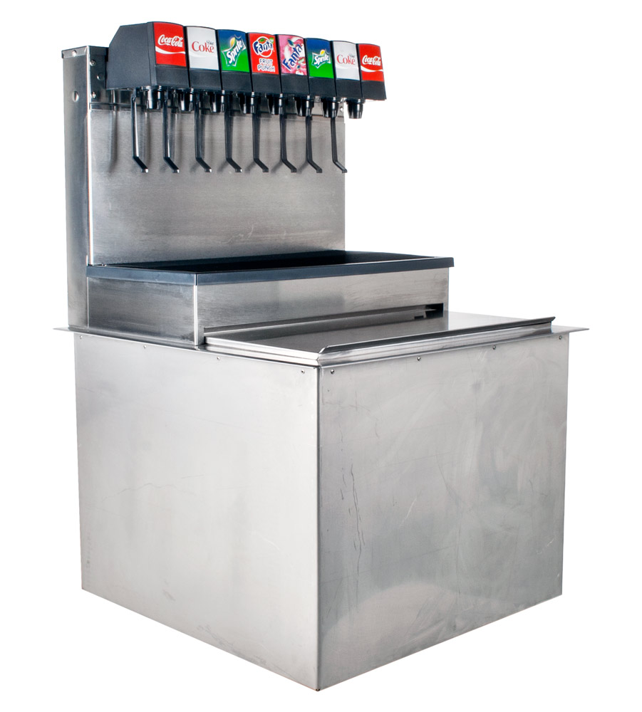 8-Flavor Scratch and Dent Drop-In Soda Fountain System