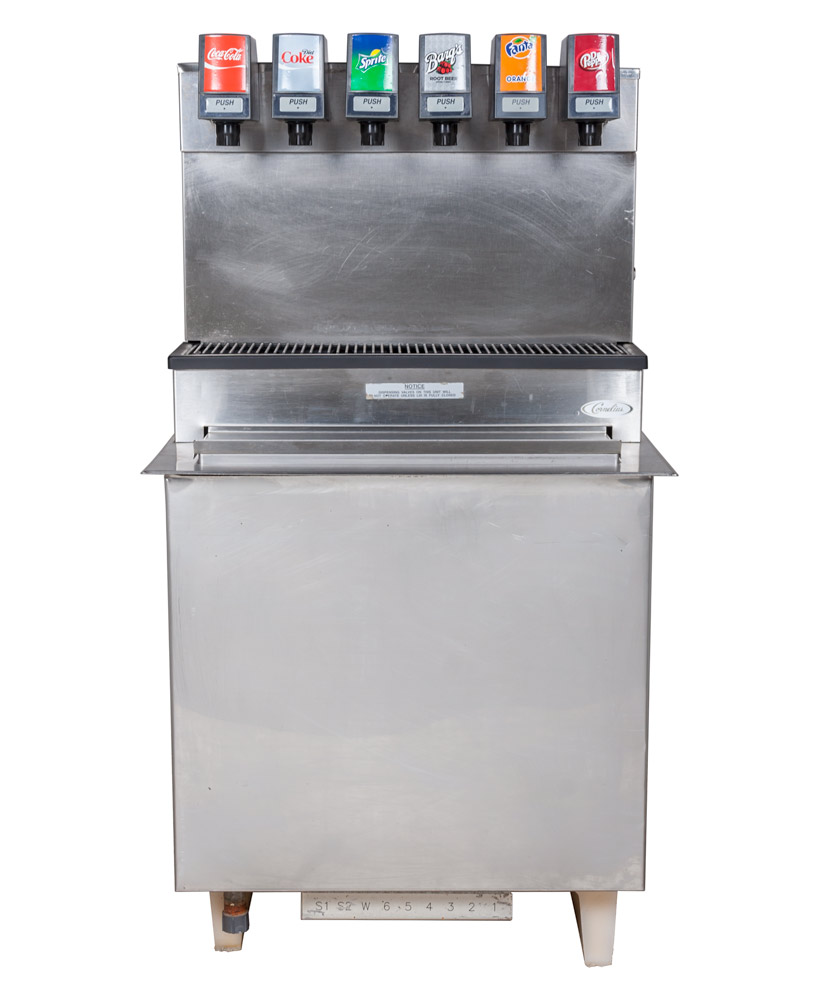 6-Flavor Drop-In Soda Fountain System