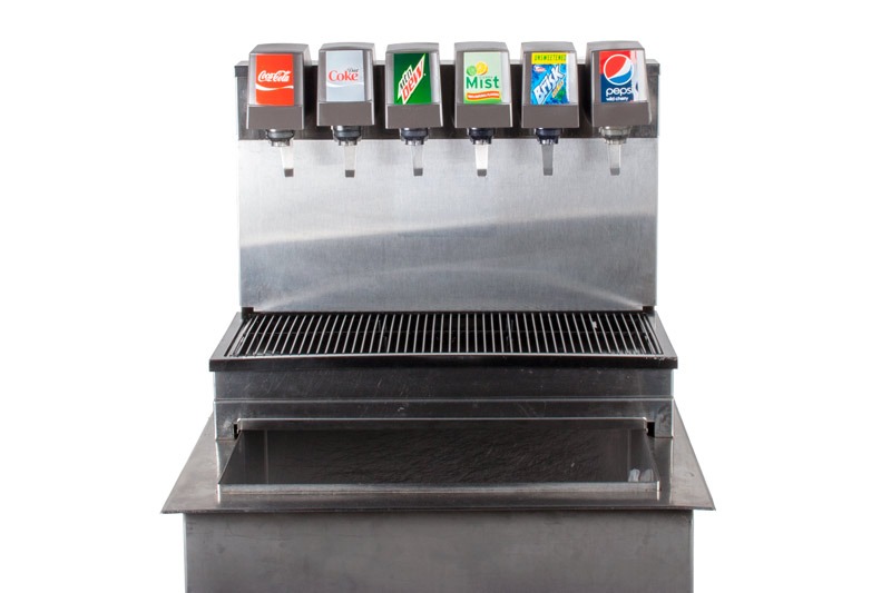 6-Flavor Drop-in Soda Fountain (close)